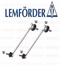 Set of 2 Lemforder Front Stabilizer Bar Link's BMW E46 323 325 328 330 M3 Z4