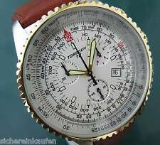 Torgoen T2 Pilotenuhr Fliegeruhr 1261 Torgeon CHRONO; tot-chicer  Chronograph