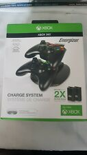 Dual Charging Station Stand Fast Charge Base Holder For XBOX 360 Controllers New