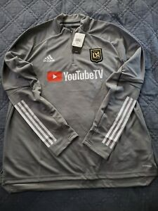 Men Adidas 2020 Los Angeles LAFC Training Top Soccer NWT FS7071 Size 3XL