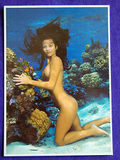 Nude Topless Tahiti Tahitian Hawaii Hawaiian Hula Polynesian Islander Girl PC #4