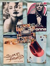 MADONNA 5 Lot official promo postcards GHV2 Music Die Another Day Truth or Dare