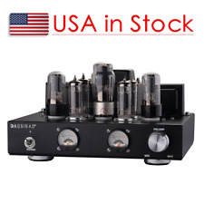 6P1 Vacuum Tube Amplifier Stereo Class A Single-Ended Power Amp 6.8W×2 Black