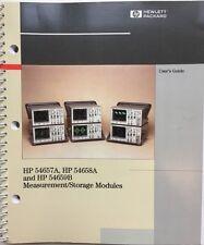 HP 54657A 54658A 54659B Measurement/Storage Modules User's Guide P/N 54657-97005