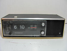 MID-CENTURY PANASONIC MODEL RC-1280 FLIP NUMBER CLOCK RADIO ##WORKS##