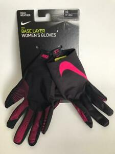 Nike Base Layer Women's Gloves Running Touch Screen Training Winter Driving ❄ ❅