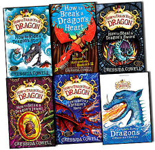 How to Train Your Dragon 6 Books Collection Pack Set Book 7 to12 by Cressida Cow