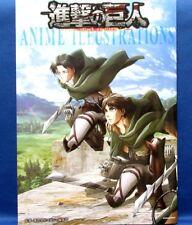 Attack on Titan Anime Illustrations /Japanese Art Book