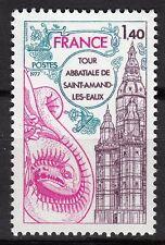 FRANCE TIMBRE NEUF  N° 1948 **  TOUR ABBATIALE DE SAINT AMAND LES EAUX
