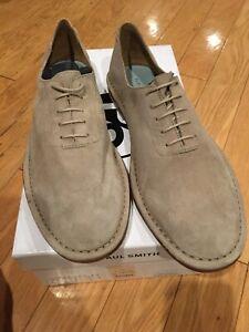 Paul Smith Merchant Suede Shoes Size 10 NIB Retail $375