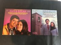 Guy & Ralna - Lot of 2 LP Records - Lawrence Welk & Hymns We Love to Sing (1973)