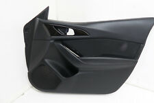 MAZDA 3 DRIVER SIDE FRONT DOOR CARD O/S RIGHT 2015 5DR