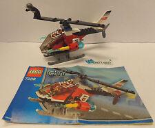 Play Gioco Game Set LEGO City 2005 Elecottero Pompieri 7238 - Fire Helicopter -