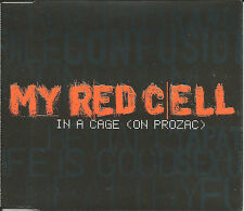 MY RED CELL In a Cage on Prozac 2 UNRELEASED Europe CD single SEALED USA seller