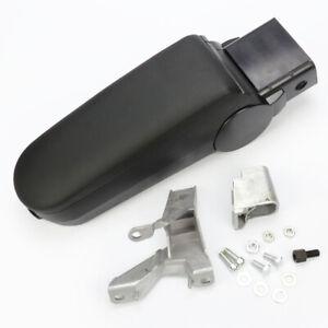 Black New Leather Center Console Armrest for VW Golf Passat B5 Jetta Bora MK4