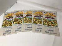 McDonalds 1991 Super Looney Tunes Happy Meal Paper Bag LOT of 5