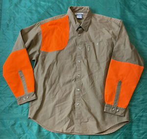 Columbia SportsWear Shirt Hunting Orange Size XL