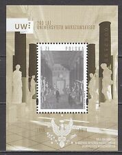 POLAND 2016 **MNH SC# S/S  200 years of the Warsaw University -