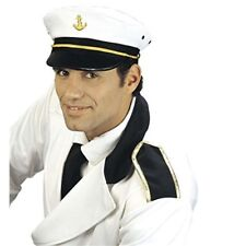 Captain Peaked Fabric Novelty Hats Caps & Headwear For Fancy Dress Costumes -