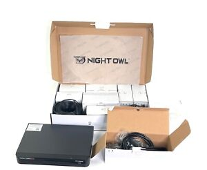 Night Owl 1TB HDD 4K Ultra HD Hybrid Security 6-Camera System C-H441P8-W2I2M