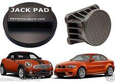 Black Jack Pad Adapter Billet Aluminum Anodized BMW MINI COOPER New Free Ship