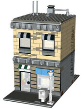 Lego Custom Modular Building - Town Shop -INSTRUCTIONS ONLY! 10232 Alternative
