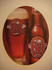 Beer Bar Coaster ~ RICKARD'S Red Authentic American Dark Ale ~ Montreal, Canada