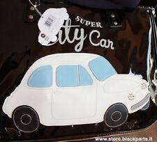 "Borsa in PVC ""City Car"" Fiat 500 NERO"