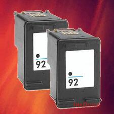 2 C9362WN 92 BLACK INK FOR HP 5420 C3170 C3180 C3188