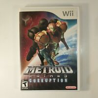 Metroid Prime 3 Corruption (Nintendo Wii, 2007)