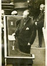 """""""Mr TARDIEU Président du Conseil 1932"""" Photo originale G. DEVRED / Agce ROL"""
