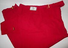 PAYNE STEWART Red Wool GOLF KNICKERS PANTS 34RG NEW GOLFING Springfield 34
