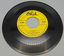 Little Joe & The Thrillers Peanuts/Lilly Lou 45 RPM Okeh 4-7088