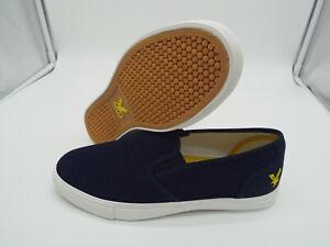 LYLE & SCOTT Ettrick Mesh/Canvas Shoes 🌍 Size 12 🌎 RRP £48+ 🌏 UK FREEPOST