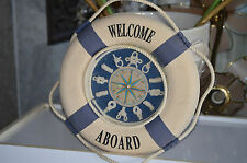 Nautical Marine Style Wall Decor- Lot Of Four Three Wall Clocks One Ship Picture