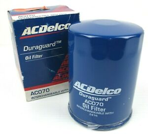 AC Delco Oil Filter AC070 Interchangeable With Z416 New In Box & Sealed Genuine