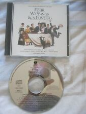 FOUR WEDDINGS & A FUNERAL - SOUNDTRACK. (CD 1994). 14 Tracks. EAN:731451675126.