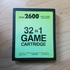 Atari 2600 - 32 in 1 Cartuccia-Air SEA BATTLE FUORILEGGE Stampede-Testato #7