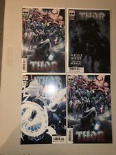 Thor 5 1st Appearance Black Winter Lot Of 4 Books 2x 2nd Print 1x3rd 1x4th Cates