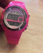 Timex Women's Marathon T5K7119J Indiglo Pink/Silver Digital Sport Watch