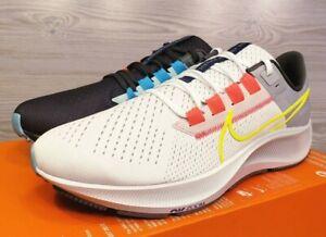 Nike Women's Air Zoom Pegasus 38 LE Dark Grey White Volt DJ3129 001 Pick Size