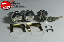 58, 61-64 Impala Locks Ignition & Door with long cylinder Original OEM Keys