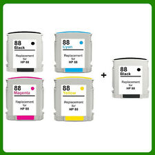 5 Ink Cartridge for HP 88XL Officejet Pro K5400 K5400DN K5400DTN K550 K550DTN
