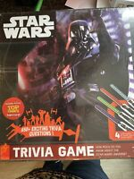 New Star Wars Trivia Game Lightsaber Puzzles 650 Questions Disney Sealed