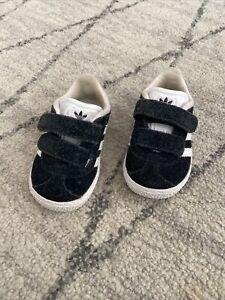 Toddler Baby Adidas Gazelle Shoes Sz US4 Euc