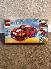 LEGO Creator 31024 Roaring Power Car, Dinosaur, Seaplane w Instructions Complete