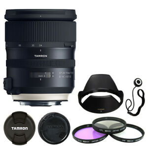Tamron SP 24-70mm f/2.8 Di VC USD G2 Lens for Canon + Deluxe Accessory Kit