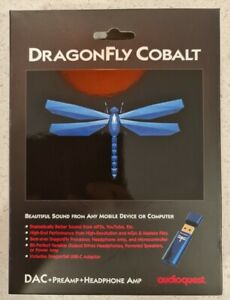 AudioQuest DragonFly Cobalt USB DAC & Headphone Amp