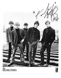 CHARLIE WATTS  Autogramm original signiert ROLLING STONES Foto 20x25