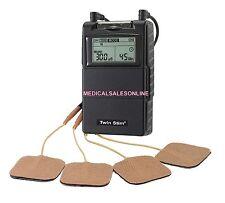 TWIN STIM 2nd Edition TENS 7000 & EMS 7500 Combo Unit Massager otc Stimulator